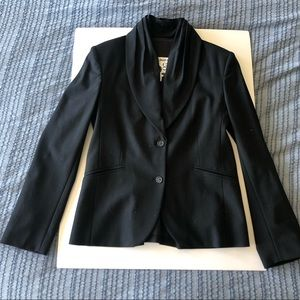 Vintage Daryl K 189 Barneys NY black wool suit